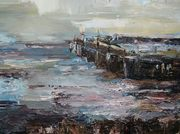 Pier in Ballingskelligs,Donated Painting