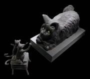 Grendel African wonder stone bronze