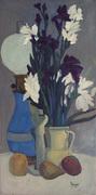 Vaso con gladioli