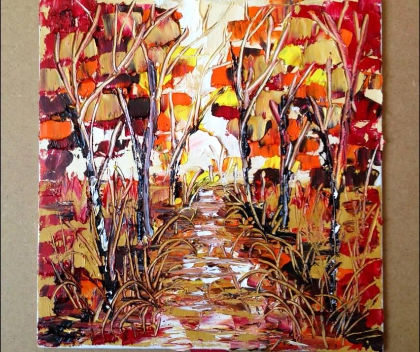 oil canvas 50x50cm