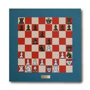 Chess board -  one of a series of 64