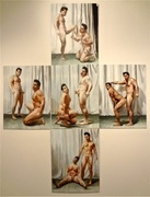 Stef Duffy, Twinings, double self portrait series.