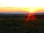 Telluride Sun Setting Low
