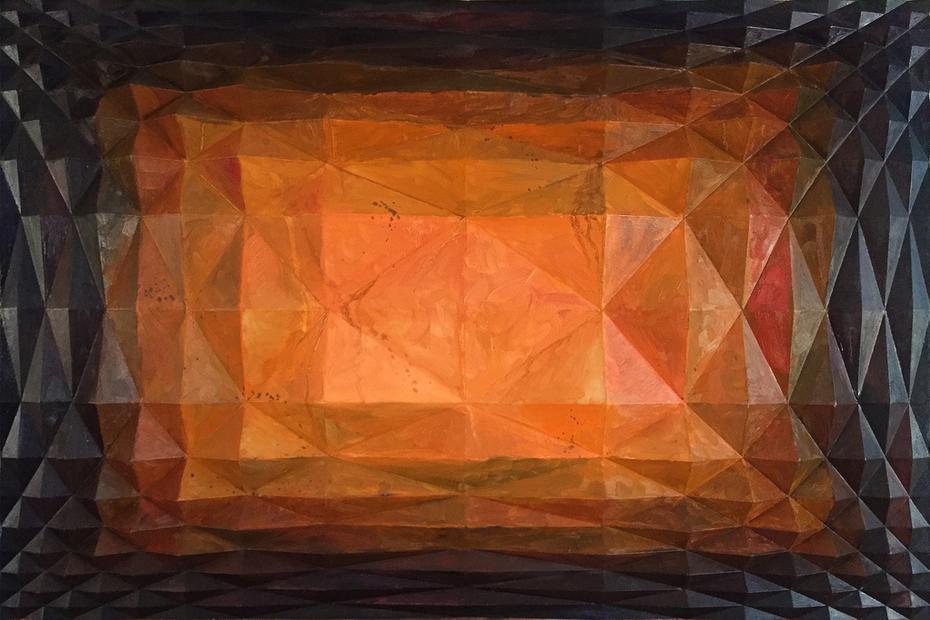 Untitled (Logarithmic Grid I)