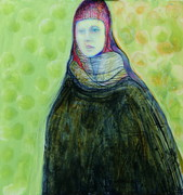 Lady with Green