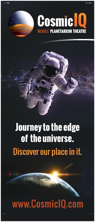 Cosmic IQ Poster