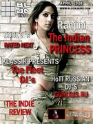 Ranjini on the Cover of BlockJams