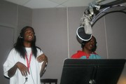 Lo & PlayBoi in booth