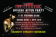 THE GAME FLYER copy