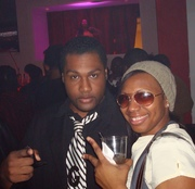Me and my assistant @ Club Pure in ATL