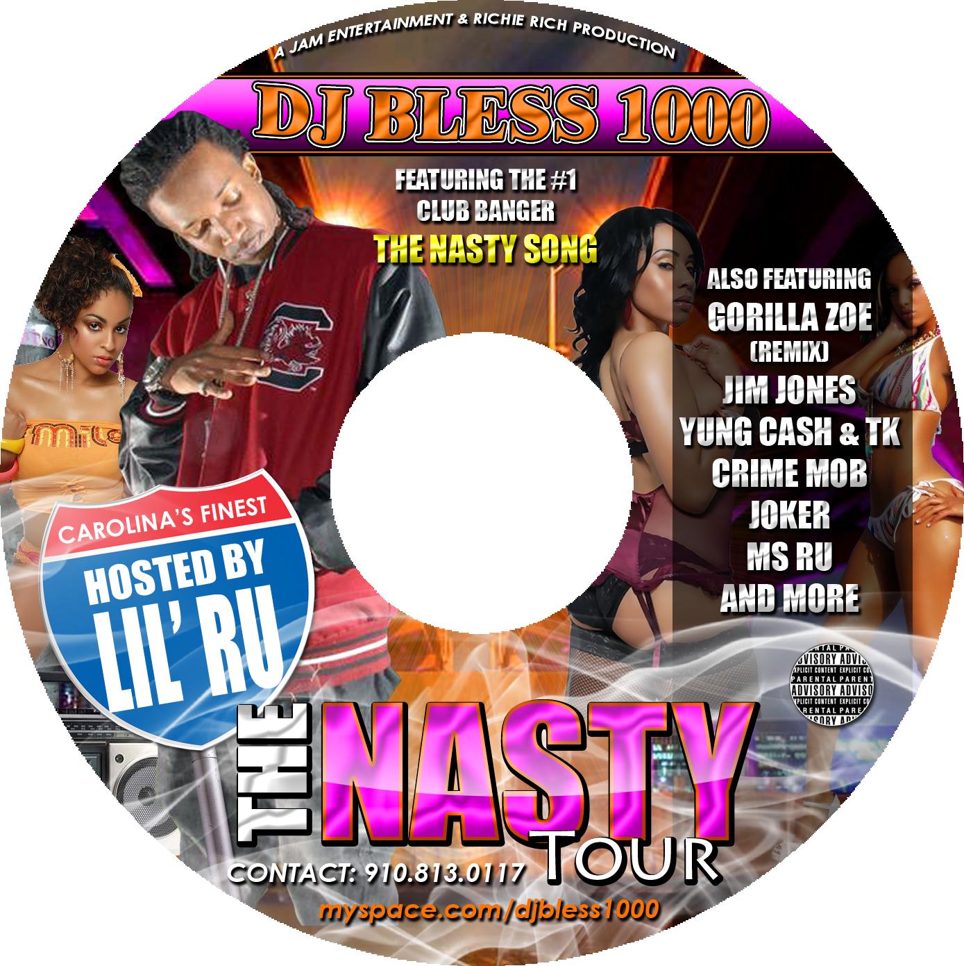DJ Bless - The Nasty Tour (Disc)