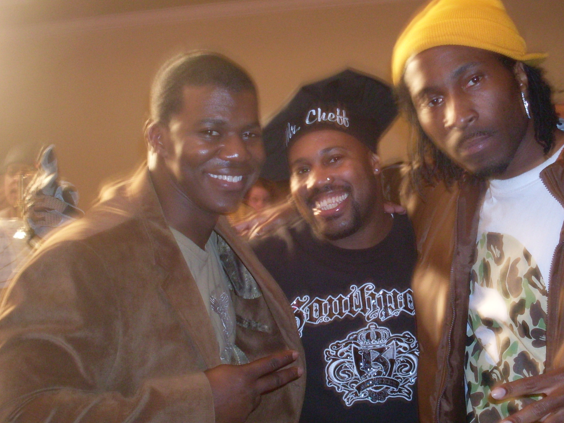 DJ HOLLYWOOD,MR CHEFF,&DJ BONAY