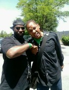 Mark Curry & DJ Toledo at The Juice Hangin' With Mr.Cooper
