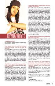 add Chyna Whyte on Fb and twitter @chynawhyte504