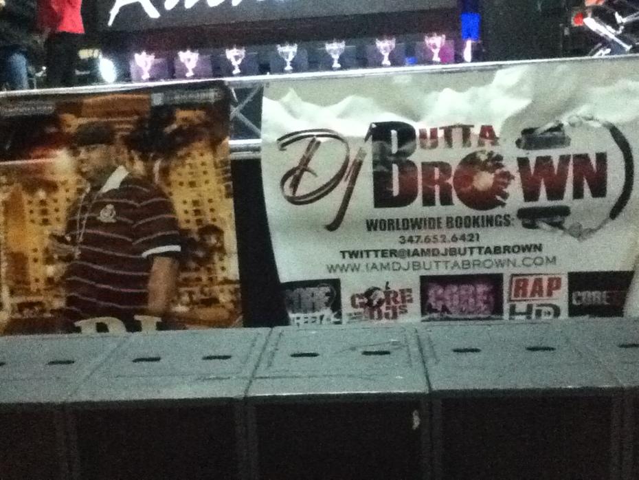 DJ BUTTA BROWN BANNER