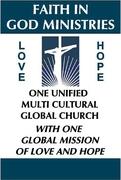 ONE GLOBAL CHURCH.... FAITH IN GOD MINISTRIES[1]