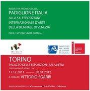 Biennale di Venezia, padiglione Italia a Torino