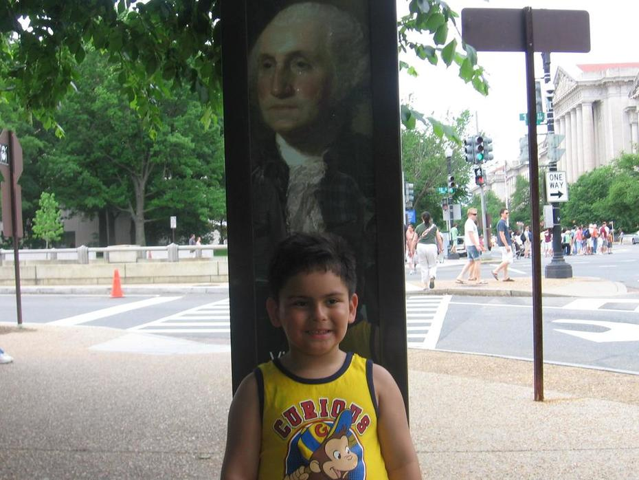 GW and Anthony