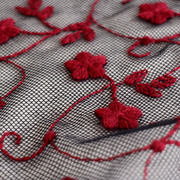 certified organic embroidery and lace - av. in GOTS