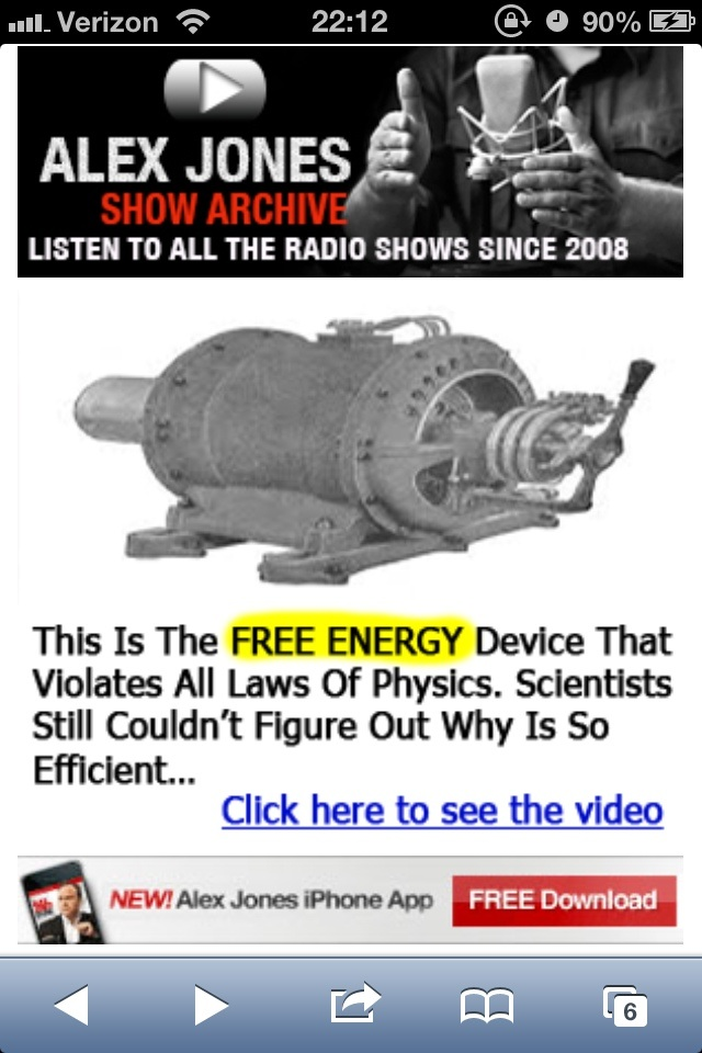 Readers of Infowars Do you choose to just ignore stuff like this, or does it give you pause Their ads are insultingly stupid -misleading