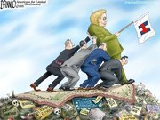 #DNCLeaks: Political Cartoon