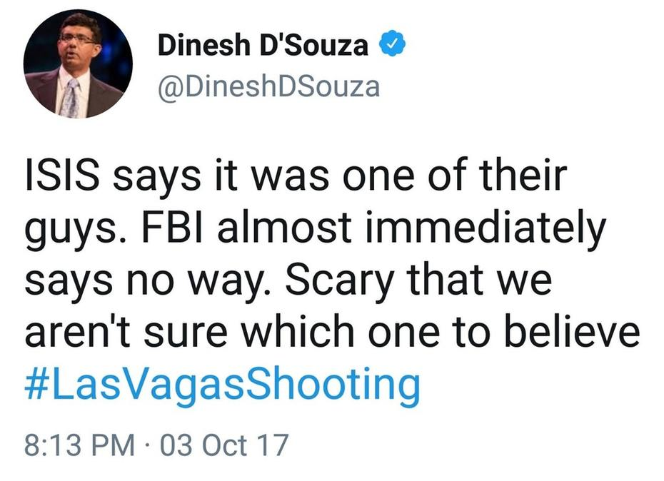 """ISIS vs FBI. """"Scary that we aren't sure which one to believe."""""""