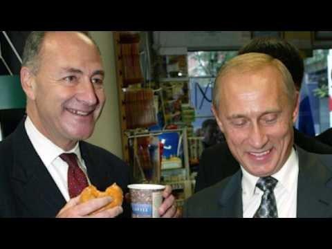 Rare Photo - Sen Schumer + Pres Putin