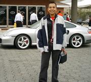 Junto a un Porsche 911