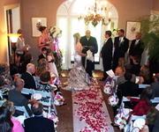 Wedding Ceremony in Foyer