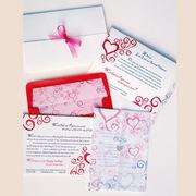 Ink & Paper Romance Letterpress Wedding Invitation Design
