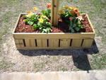 mailbox planter by kreg's jig
