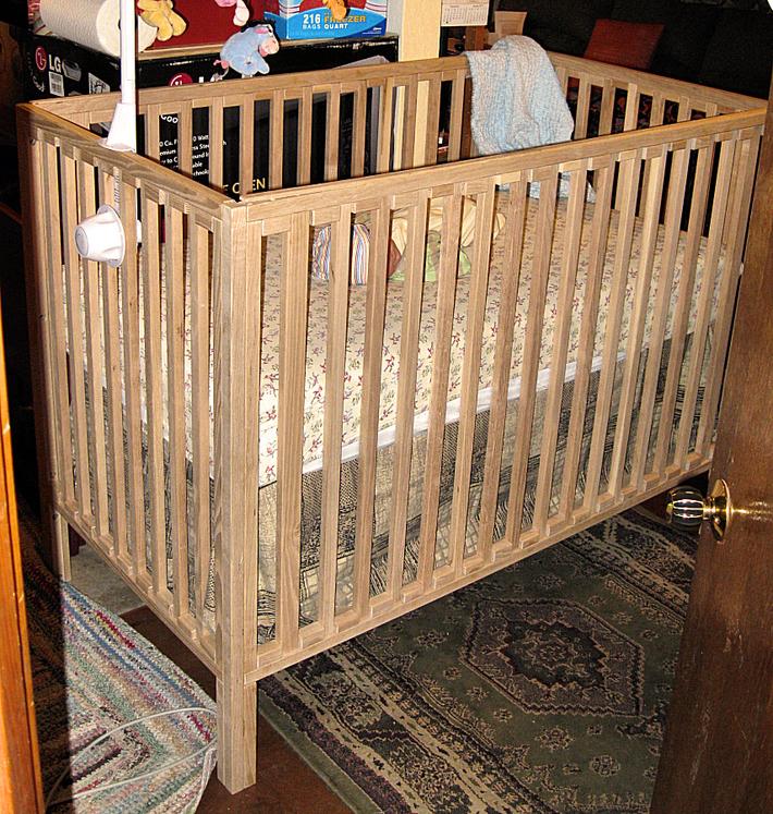 Matthew's New Crib