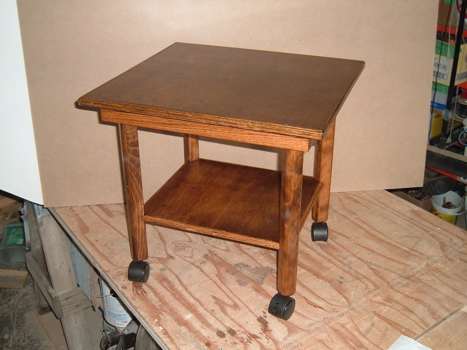 Nina's art studio table 4
