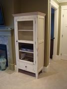 Pallet Wood Ent. Cabinet