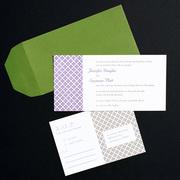 Jennifer Letterpress Wedding Invitation Design