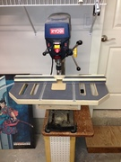 Drill press table almost complete.