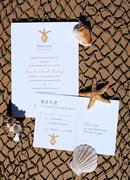 Malulani Letterpress Wedding Invitation Design
