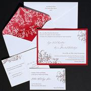 Kourtesis Letterpress Wedding Invitation Design