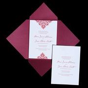 Roco Letterpress Wedding Invitation Design