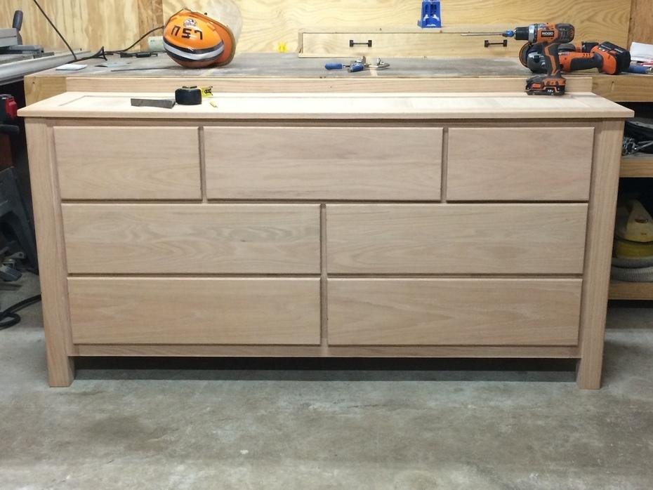 Dresser complete raw