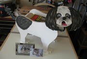 Dog Planter/Magazine Rack