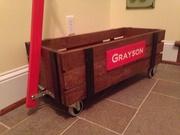 Restoration Hardware Industrial Wagon