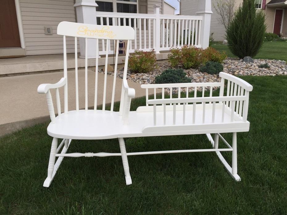 Rocking chair cradle