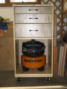 Tool Storage Cart Front View