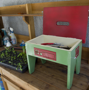 Gardening Toolchest and Stool