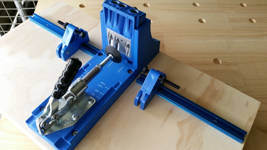 Kreg Jig K4 with Mini Trak and 2x Support Stops