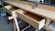 Learning a new skill, building drawers to measurement and are functional