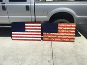 Rustic Flags