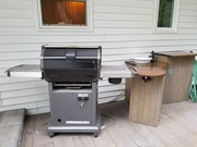 Back Yard BBQ setup