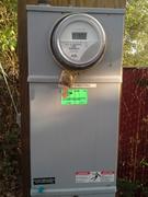 Front Street electric meter